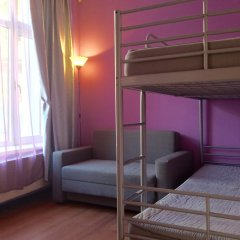 Хостел 7 Sky на Красносельской Номер с общей ванной комнатой с различными типами кроватей (общая ванная комната)