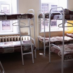 Hostel Avrora Кровать в общем номере с двухъярусной кроватью фото 7