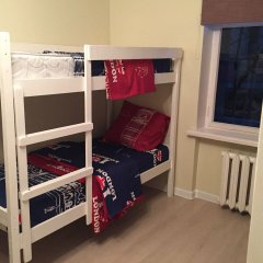 Хостел Visotka Кровати в общем номере с двухъярусными кроватями фото 5