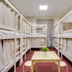 Centeral Hotel & Hostel Кровать в общем номере фото 19