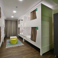 Хостел Nice Пенза Кровать в мужском общем номере с двухъярусной кроватью фото 7
