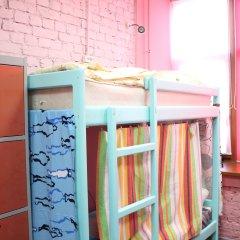 Red House Hostel Кровать в общем номере с двухъярусной кроватью