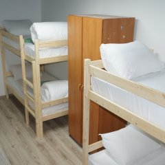 Гостиница Oh My Kant on Olshtynskaya Кровать в общем номере с двухъярусными кроватями фото 14