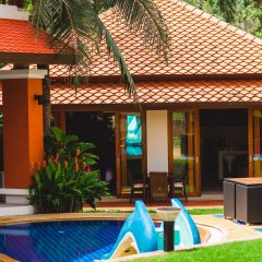 Отель Villa Laguna Phuket 4* Бунгало с различными типами кроватей фото 13