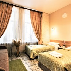 Мини-Отель Меланж Стандартный номер с различными типами кроватей фото 25