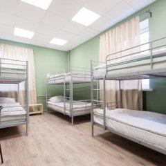 Хостел Story Кровать в женском общем номере двухъярусные кровати