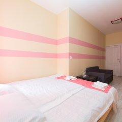 Мини-Отель Компас Номер с общей ванной комнатой с различными типами кроватей (общая ванная комната) фото 27