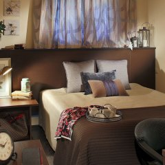 Мини-Отель Амстердам Номер Бизнес разные типы кроватей фото 3