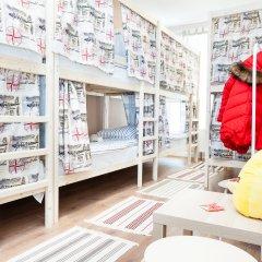 Гостиница Хостелы Рус Домодедово Кровать в общем номере с двухъярусной кроватью фото 3