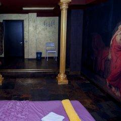 Хостел Полянка на Чистых Прудах Номер с различными типами кроватей (общая ванная комната) фото 12