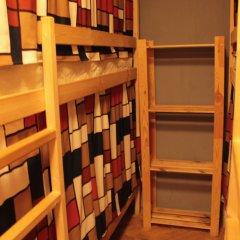 Гостиница Хостелы Рус - Звездный Бульвар Кровать в мужском общем номере с двухъярусной кроватью фото 6