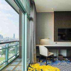 Отель Chatrium Riverside Bangkok Таиланд, Бангкок - 3 отзыва об отеле, цены и фото номеров - забронировать отель Chatrium Riverside Bangkok онлайн балкон фото 2