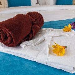 Гостиница Голубая Лагуна Номер Делюкс разные типы кроватей фото 7