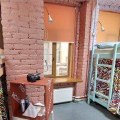 Red House Hostel Кровать в общем номере с двухъярусной кроватью фото 14