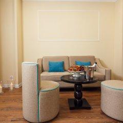 Гостиница Голубая Лагуна Люкс разные типы кроватей фото 12