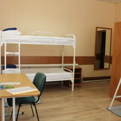 Хостел Бор на Волге Кровать в общем номере двухъярусные кровати фото 12