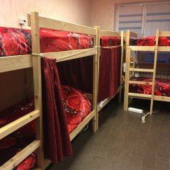 Хостел Аквариум Кровать в общем номере с двухъярусными кроватями фото 5