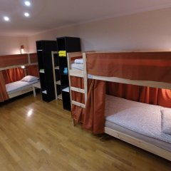 Гостиница Майкоп Сити Кровать в общем номере с двухъярусной кроватью фото 22