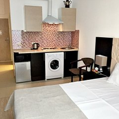 Апартаменты Олимп Апарт Апартаменты с разными типами кроватей фото 6