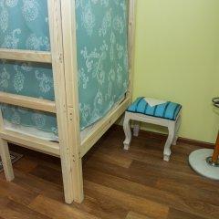 Хостел Рус – Парк Победы Кровать в общем номере с двухъярусной кроватью фото 7