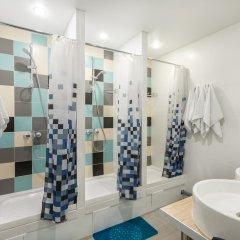Nice Hostel Павелецкая Номер с общей ванной комнатой с различными типами кроватей (общая ванная комната) фото 8