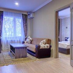Гостиница Resident Almaty Алматы комната для гостей фото 3