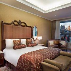 Лотте Отель Москва 5* Улучшенный номер разные типы кроватей фото 6