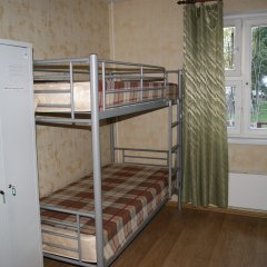 Хостел Благовест на Тульской Кровать в мужском общем номере двухъярусные кровати фото 5