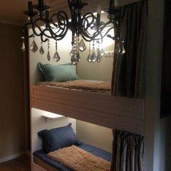 Хостел на Садово-Спасской Кровати в общем номере с двухъярусными кроватями фото 2