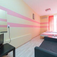Мини-Отель Компас Номер с общей ванной комнатой с различными типами кроватей (общая ванная комната) фото 6