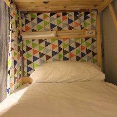 Хостел Bla Bla Hostel Rostov Кровать в общем номере с двухъярусной кроватью фото 5