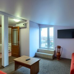 Гостиница Два крыла Стандартный номер с различными типами кроватей фото 9