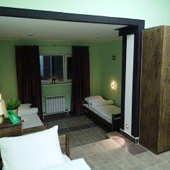 Хостел №1 Электрозаводская Кровать в общем номере с двухъярусной кроватью