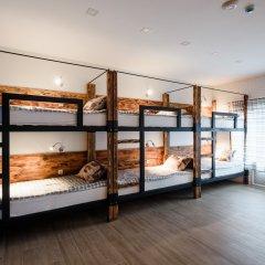 Хостел Five Stars Кровать в мужском общем номере с двухъярусной кроватью фото 3