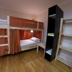Гостиница Майкоп Сити Кровать в общем номере с двухъярусной кроватью фото 15