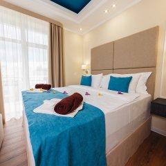 Гостиница Голубая Лагуна Номер Делюкс разные типы кроватей фото 4