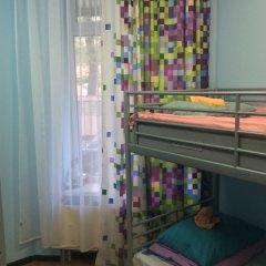 Хостел 7 Sky на Красносельской Кровать в женском общем номере с двухъярусной кроватью фото 2