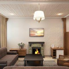 Гостиница Аквариус Улучшенный люкс с различными типами кроватей фото 3
