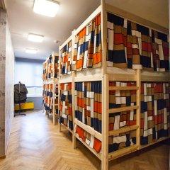 Гостиница Хостелы Рус - Звездный Бульвар Кровать в мужском общем номере с двухъярусной кроватью фото 5