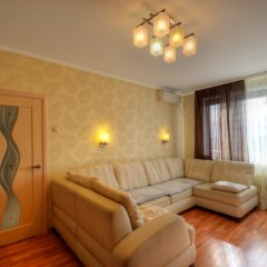 Апартаменты Евро Апартаменты в Алтуфьево Cheese Cake комната для гостей фото 5
