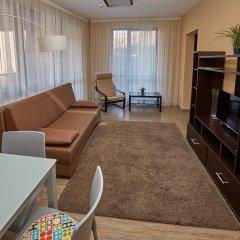 Апарт-Отель Skypark Улучшенные апартаменты с разными типами кроватей фото 22