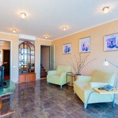 Гостиница Белый Грифон Апартаменты с различными типами кроватей фото 9