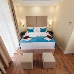 Гостиница Голубая Лагуна Номер Делюкс разные типы кроватей фото 3