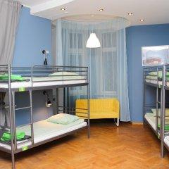 Хостел Amalienau Hostel&Apartments Кровать в общем номере с двухъярусными кроватями фото 4