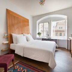 Отель Design Neruda 4* Улучшенный номер с различными типами кроватей фото 3