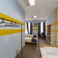 Мини-Отель Компас Номер с общей ванной комнатой с различными типами кроватей (общая ванная комната) фото 21