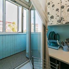 Апартаменты Luxury Voykovskaya Улучшенные апартаменты с разными типами кроватей фото 9