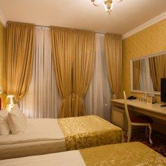 Бутик Отель Калифорния 5* Улучшенный номер разные типы кроватей фото 3