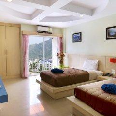 Отель Patong Eyes 3* Улучшенный номер с различными типами кроватей фото 4