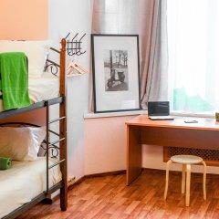 Хостел Сердце Столицы Кровать в общем номере двухъярусные кровати фото 2